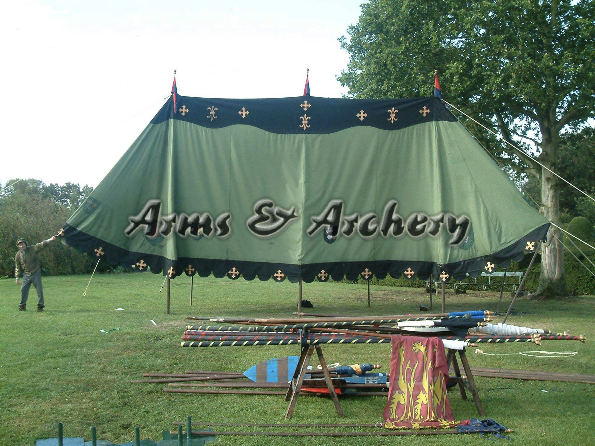 Tent roof 30ft & Arms and Archery - Medieval Armour Suits / Medieval Weaponry ...